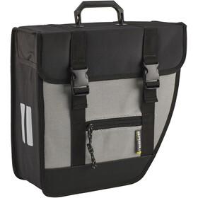 Basil Tour Right Single Pannier Bag 17l black/silver